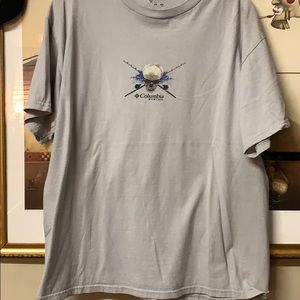 Men's large Columbia fishing shirt